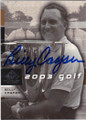 BILLY CASPER AUTOGRAPHED GOLF CARD #22114J