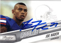 JOE HADEN AUTOGRAPHED ROOKIE FOOTBALL CARD #22114P