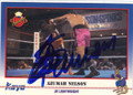 AZUMAH NELSON AUTOGRAPHED BOXING CARD #22214A