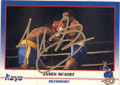 JAMES McGIRT AUTOGRAPHED BOXING CARD #22214C
