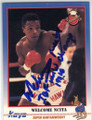 WELCOME NCITA AUTOGRAPHED BOXING CARD #22214E