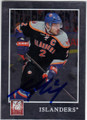 MARK STREIT NEW YORK ISLANDERS AUTOGRAPHED HOCKEY CARD #22214J
