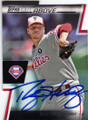 ROY HALLADAY PHILADELPHIA PHILLIES AUTOGRAPHED BASEBALL CARD #22214S