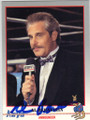 AL BERNSTEIN AUTOGRAPHED BOXING CARD #22314H