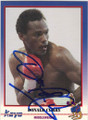 RONALD CURRY AUTOGRAPHED BOXING CARD #22314J