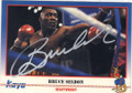 BRUCE SELDON AUTOGRAPHED BOXING CARD #22414C