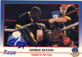 GEORGE BENTON AUTOGRAPHED BOXING CARD #22414E