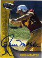 PAUL MOLITOR UNIVERSITY OF MINNESOTA GOLDEN GOPHERS AUTOGRAPHED BASEBALL CARD #22414G