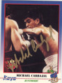 MICHAEL CARBAJAL AUTOGRAPHED BOXING CARD #122414i