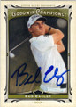 BUD CAULEY AUTOGRAPHED GOLF CARD #30314F