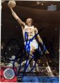 JOHN SALLEY DETROIT PISTONS AUTOGRAPHED BASKETBALL CARD #30314K