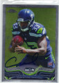CHRISTINE MICHAEL SEATTLE SEAHAWKS AUTOGRAPHED ROOKIE FOOTBALL CARD #30514C
