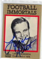 LANCE ALWORTH AUTOGRAPHED HALL OF FAME FOOTBALL CARD #30514J