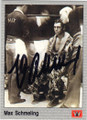 MAX SCHMELING AUTOGRAPHED BOXING CARD #30614A