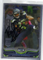 RICHARD SHERMAN SEATTLE SEAHAWKS AUTOGRAPHED FOOTBALL CARD #30614D