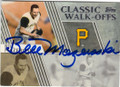 BILL MAZEROSKI PITTSBURGH PIRATES AUTOGRAPHED BASEBALL CARD #30614E