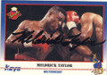 MELDRICK TAYLOR AUTOGRAPHED BOXING CARD #30714C