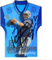 PEYTON MANNING INDIANAPOLIS COLTS AUTOGRAPHED FOOTBALL CARD #30714D