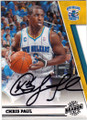 CHRIS PAUL NEW ORLEANS HORNETS AUTOGRAPHED BASKETBALL CARD #30714F