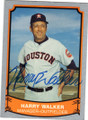 HARRY WALKER HOUSTON ASTROS AUTOGRAPHED BASEBALL CARD #31014B