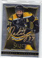 PATRICE BERGERON BOSTON BRUINS AUTOGRAPHED HOCKEY CARD #31114A