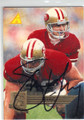 STEVE YOUNG SAN FRANCISCO 49ers AUTOGRAPHED FOOTBALL CARD #31414E