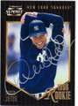DEREK JETER NEW YORK YANKEES AUTOGRAPHED BASEBALL CARD #31514C