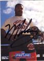MIKE SINGLETARY CHICAGO BEARS AUTOGRAPHED FOOTBALL CARD #31514E