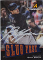 RYAN BRAUN MILWAUKEE BREWERS AUTOGRAPHED BASEBALL CARD #31514G