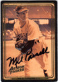 MEL PARNELL BOSTON RED SOX AUTOGRAPHED BASEBALL CARD #32014A