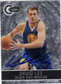 DAVID LEE GOLDEN STATE WARRIORS AUTOGRAPHED & NUMBERED BASKETBALL CARD #32214C