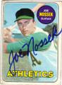 JOE NOSSEK OAKLAND A'S AUTOGRAPHED VINTAGE BASEBALL CARD #32214H