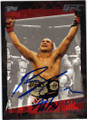 BJ PENN MIXED MARTIAL ARTIST AUTOGRAPHED CARD #32314F