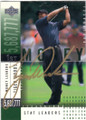 TIGER WOODS AUTOGRAPHED GOLF CARD #32314i