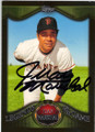 JUAN MARICHAL SAN FRANCISCO GIANTS AUTOGRAPHED BASEBALL CARD #32314L