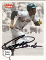 BOBBY BONDS SAN FRANCISCO GIANTS AUTOGRAPHED BASEBALL CARD #32314O