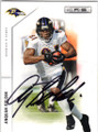 ANQUAN BOLDIN BALTIMORE RAVENS AUTOGRAPHED FOOTBALL CARD #32414i