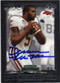 DARREN McFADDEN UNIVERSITY OF ARKANSAS AUTOGRAPHED ROOKIE FOOTBALL CARD #32414K