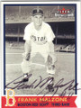 FRANK MALZONE BOSTON RED SOX AUTOGRAPHED BASEBALL CARD #33014E