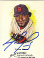 DAVID ORTIZ BOSTON RED SOX AUTOGRAPHED BASEBALL CARD #40114F