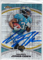 MAURICE JONES-DREW JACKSONVILLE JAGUARS AUTOGRAPHED FOOTBALL CARD #40114Q