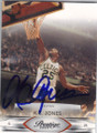 KC JONES BOSTON CELTICS AUTOGRAPHED BASKETBALL CARD #40414D