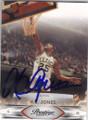 KC JONES BOSTON CELTICS AUTOGRAPHED BASKETBALL CARD #40414D