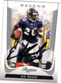 ED REED BALTIMORE RAVENS AUTOGRAPHED FOOTBALL CARD #40414E