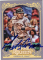 MELKY CABRERA SAN FRANCISCO GIANTS OUTFIELDER AUTOGRAPHED BASEBALL CARD #40414G