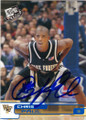 CHRIS PAUL WAKE FOREST AUTOGRAPHED ROOKIE BASKETBALL CARD #40414i