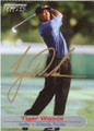 TIGER WOODS AUTOGRAPHED GOLF CARD #40414J