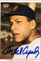 ORLANDO CEPEDA SAN FRANCISCO GIANTS AUTOGRAPHED BASEBALL CARD #40814M