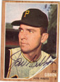 JOE GIBBON PITTSBURGH PIRATES AUTOGRAPHED VINTAGE BASEBALL CARD #40814N
