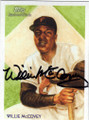 WILLIE McCOVEY SAN FRANCISCO GIANTS AUTOGRAPHED BASEBALL CARD #40814O